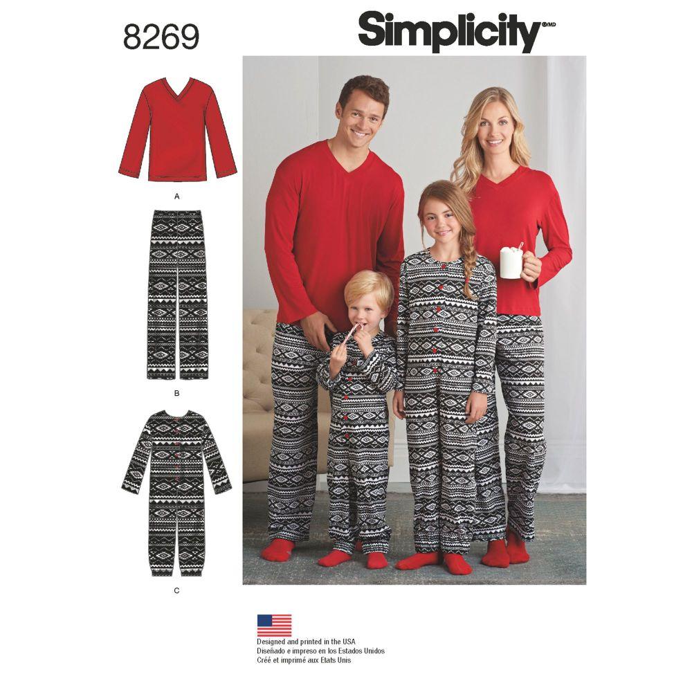 S8269 Simplicity sewing pattern A (XS - L / XS - XL)