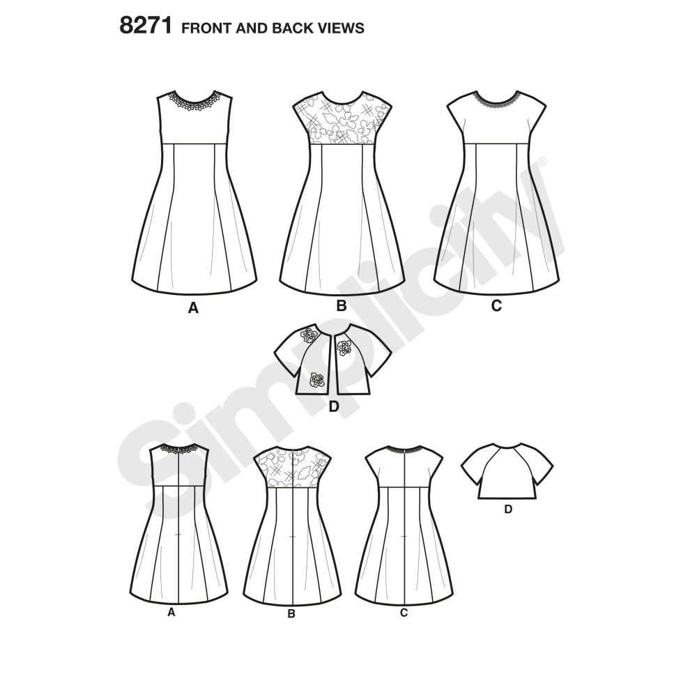 simplicity-children-pattern-8271-front-back-view