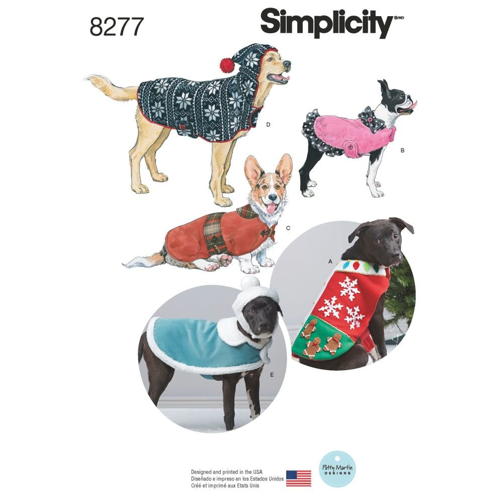 S8277 Simplicity sewing pattern A (S-M-L)
