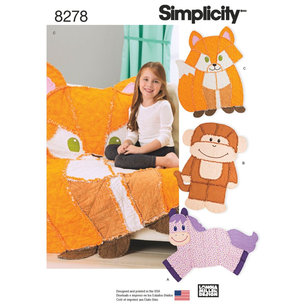 S8278 Simplicity sewing pattern OS (ONE SIZE)