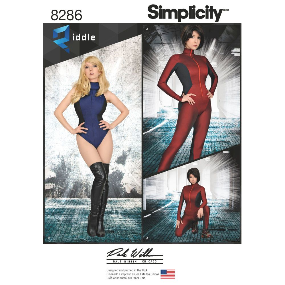 S8286 Simplicity sewing pattern H5 (6-8-10-12-14)