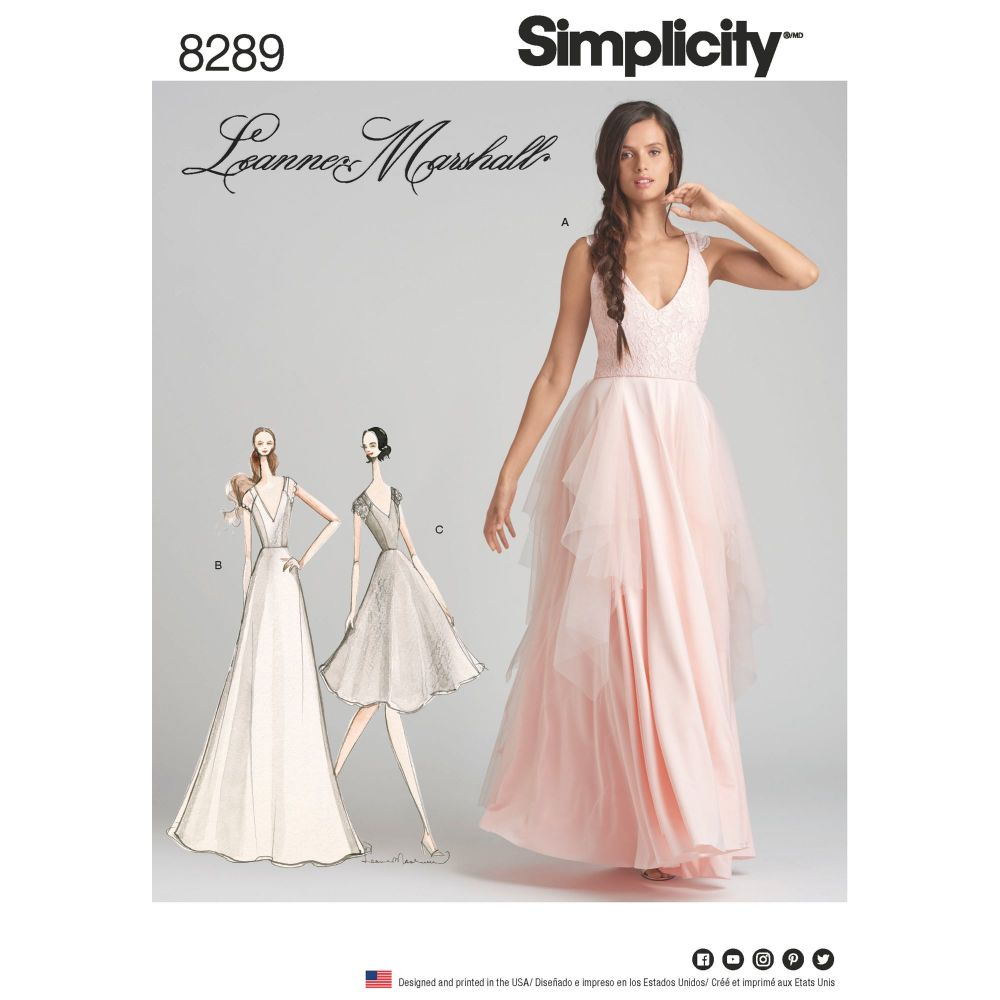 S8289 Simplicity sewing pattern P5 (12-14-16-18-20)