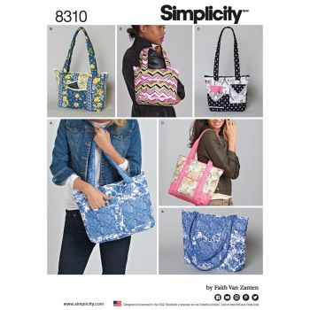 S8310 Simplicity sewing pattern OS (ONE SIZE)