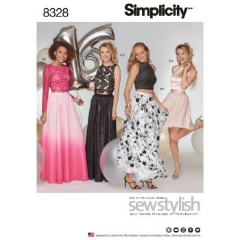 S8328 Simplicity sewing pattern D5 (4-6-8-10-12)