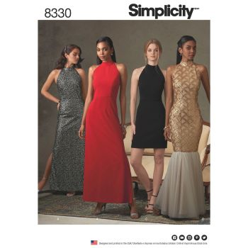 S8330 Simplicity sewing pattern D5 (4-6-8-10-12)