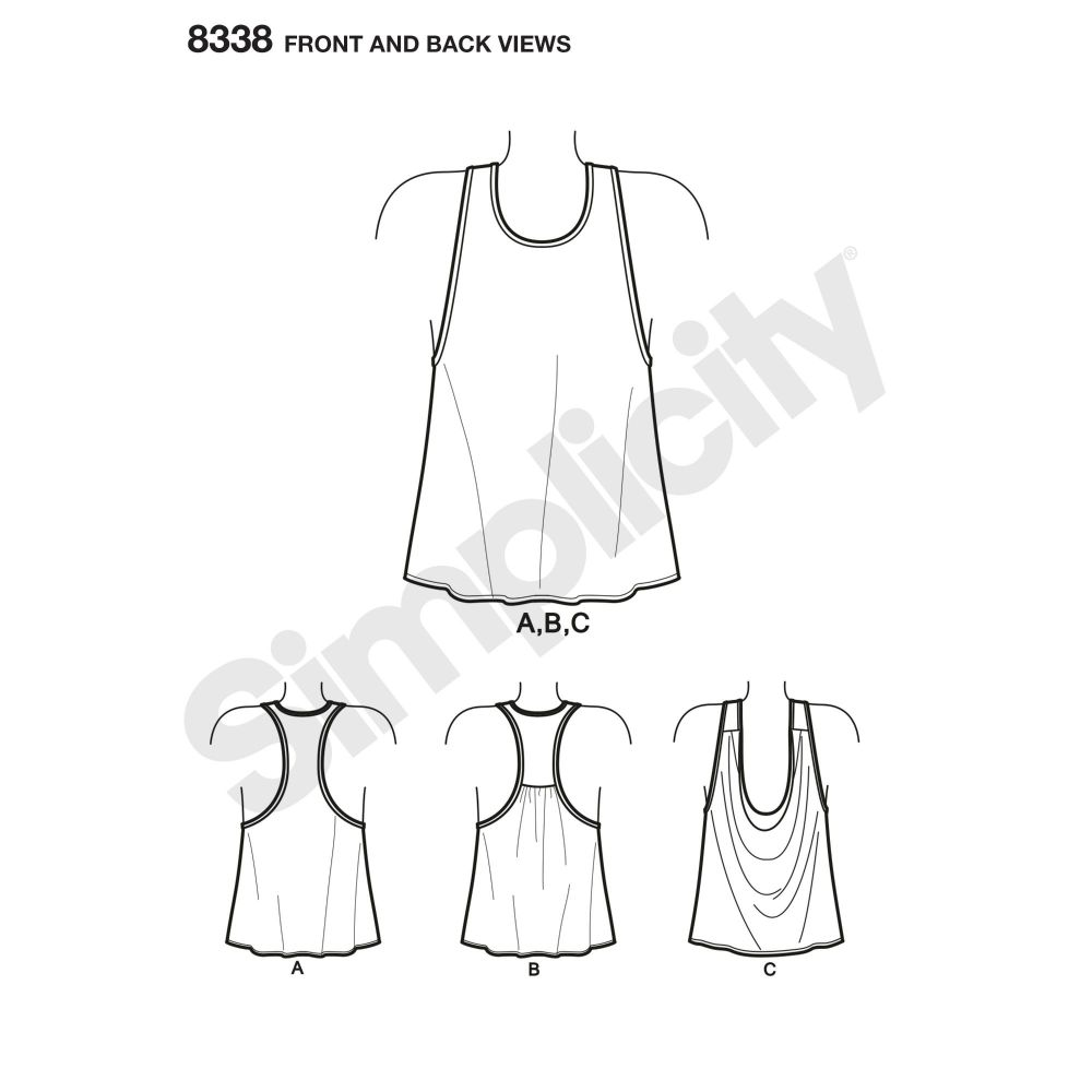 simplicity-athleisure-top-pattern-8338-front-back-view