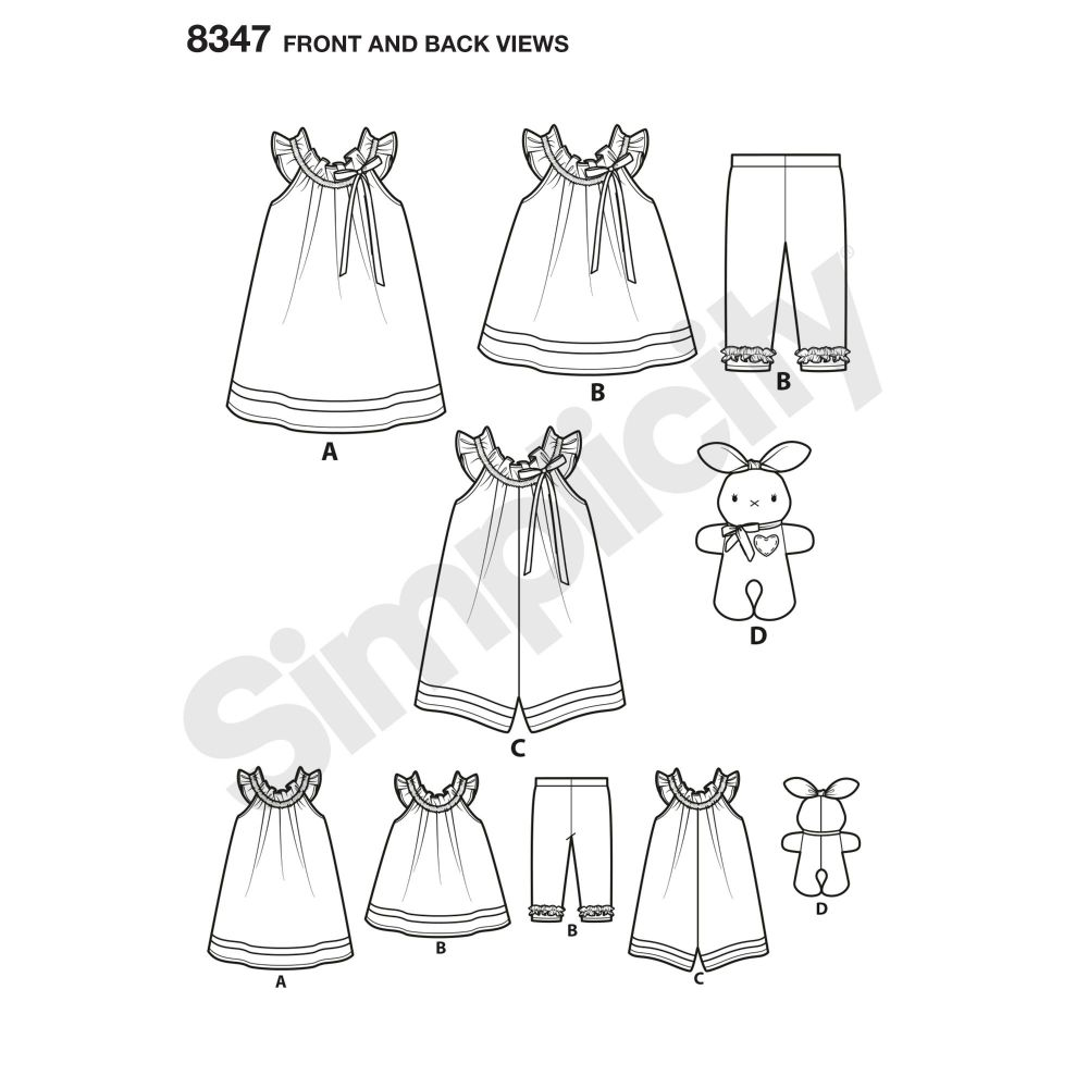 simplicity-toddler-dress-pattern-8347-front-back-view