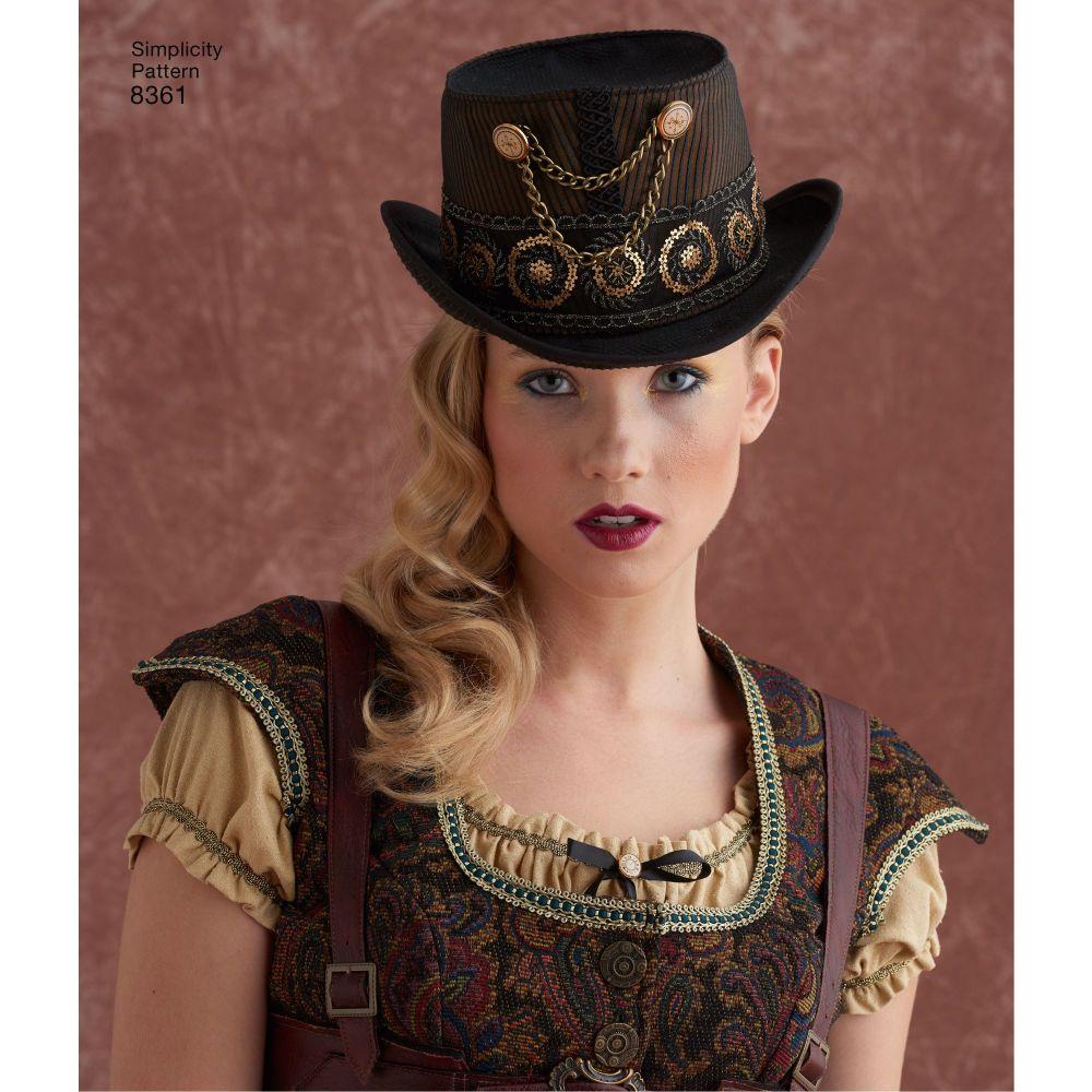 simplicity-costume-hat-pattern-8361-AV7