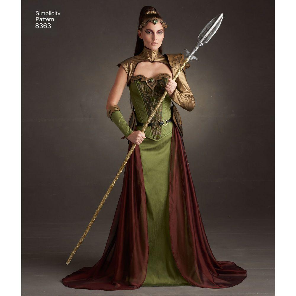 simplicity-fantasy-costume-pattern-8363-AV1