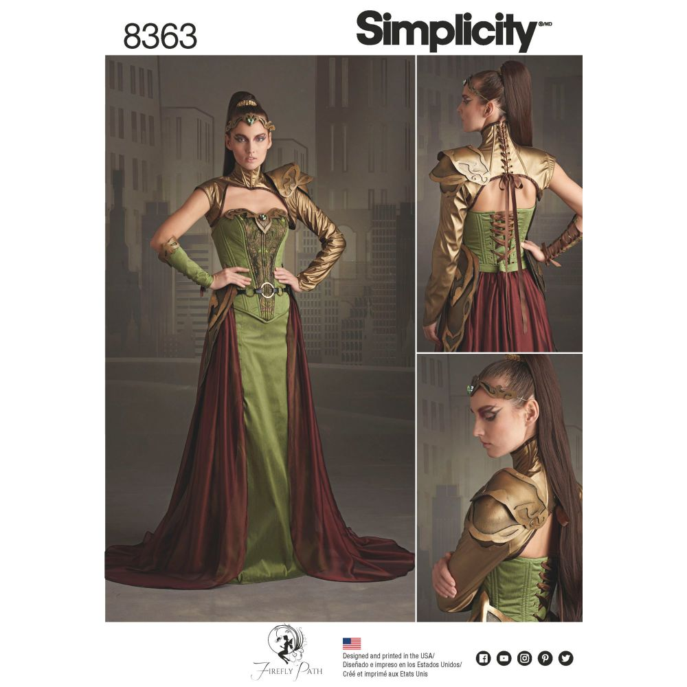 S8363 Simplicity sewing pattern H5 (6-8-10-12-14)