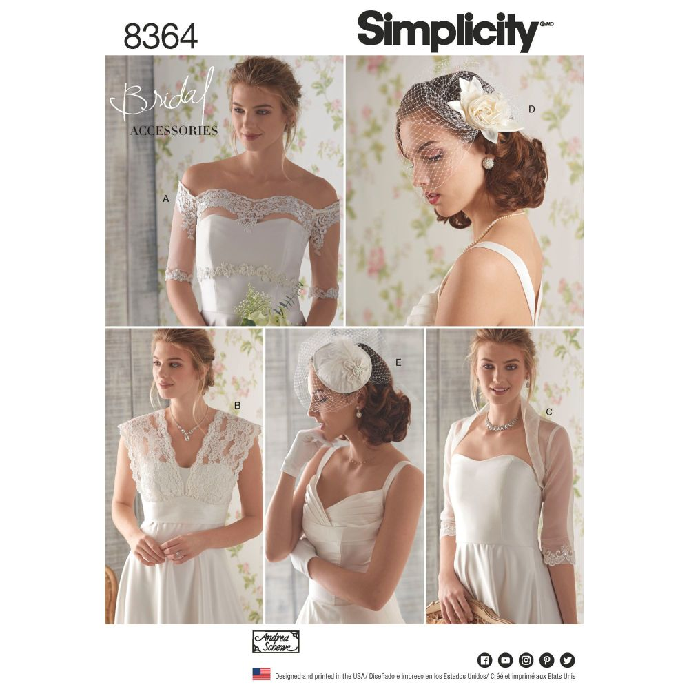 S8364 Simplicity sewing pattern R5 (14-16-18-20-22)
