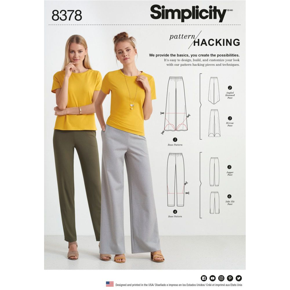 S8378 Simplicity sewing pattern