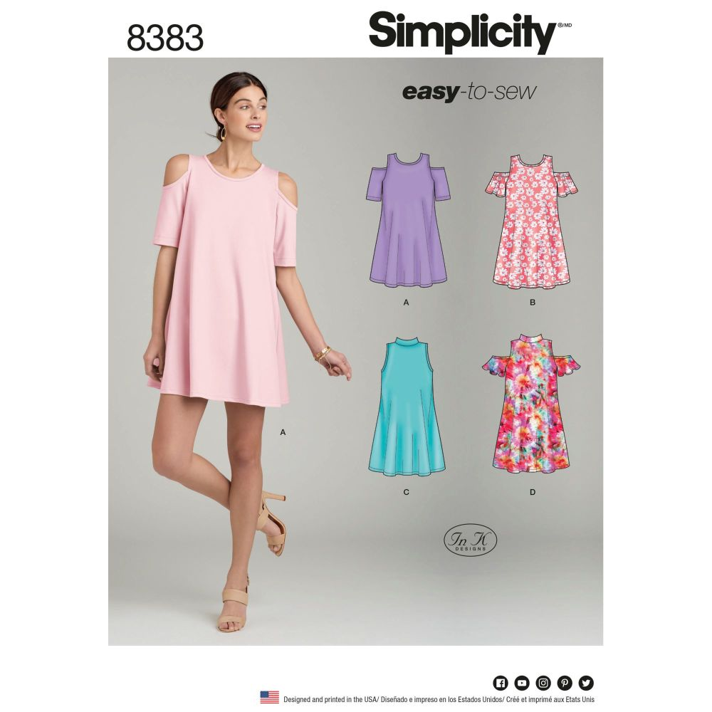 S8383 Simplicity sewing pattern R5 (14-16-18-20-22)