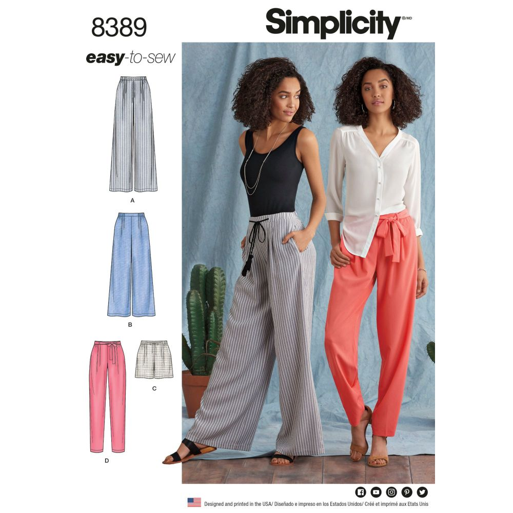 S8389 Simplicity sewing pattern H5 (6-8-10-12-14)