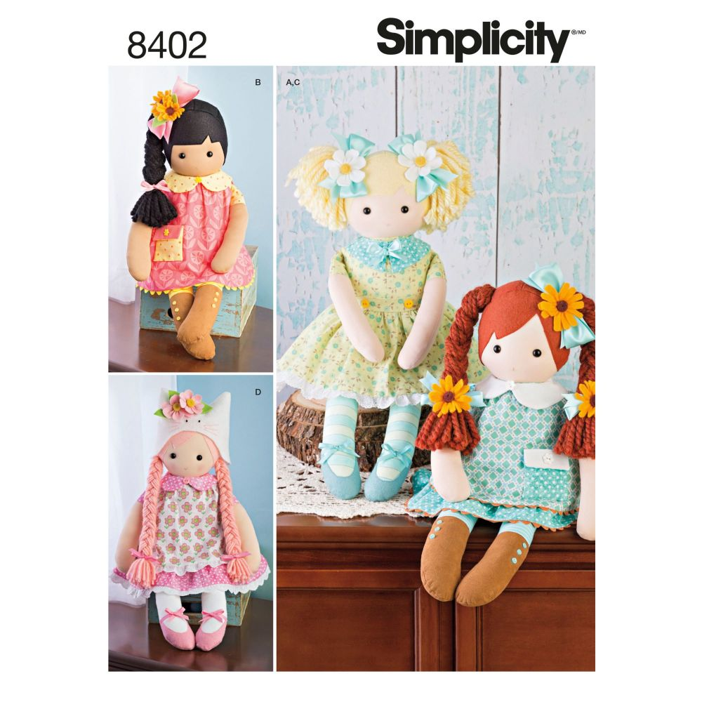 S8402 Simplicity sewing pattern OS (ONE SIZE)