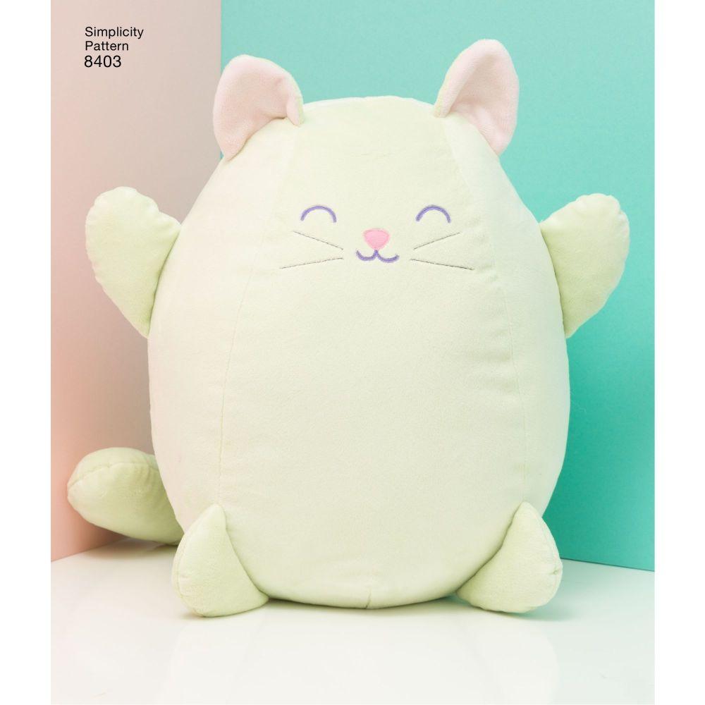 simplicity-stuffed-kitties-pattern-8403-AV4