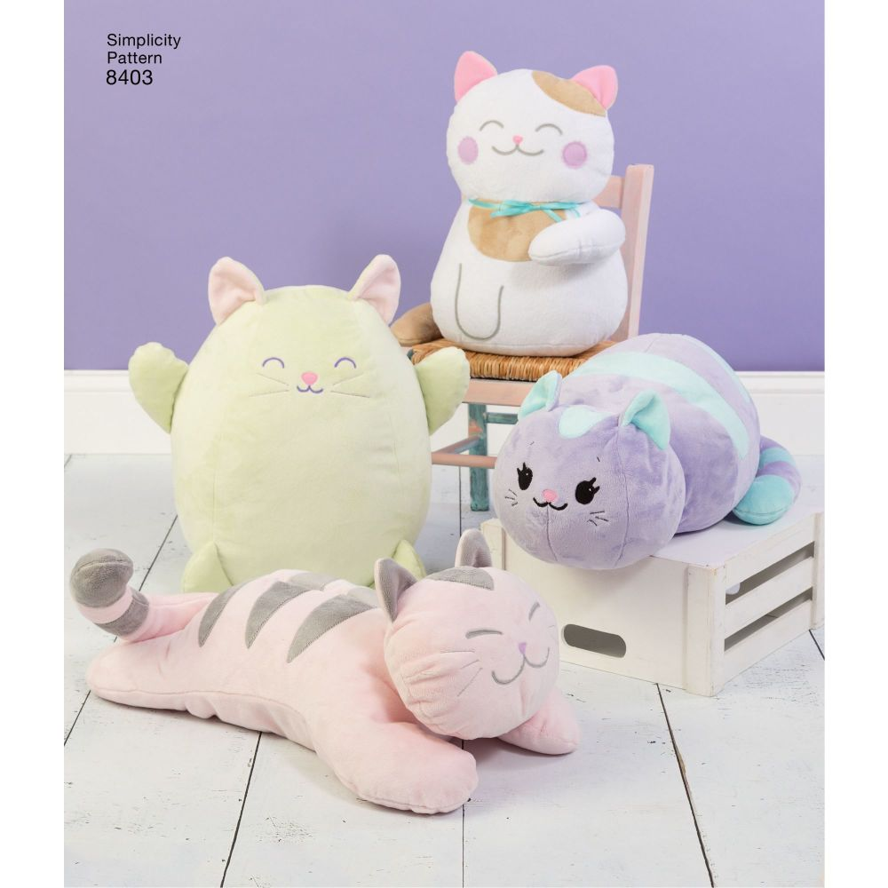 simplicity-stuffed-kitties-pattern-8403-AV7