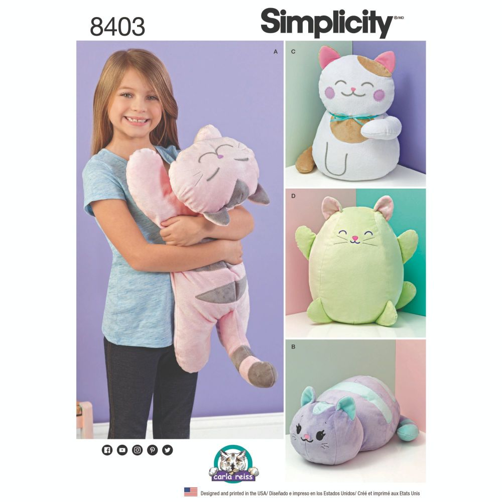 S8403 Simplicity sewing pattern OS (ONE SIZE)