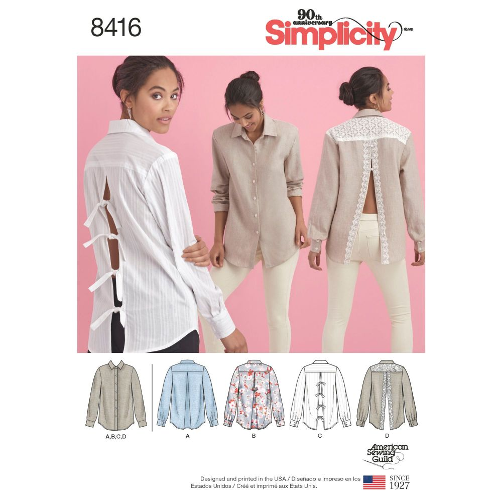 S8416 Simplicity sewing pattern H5 (6-8-10-12-14)