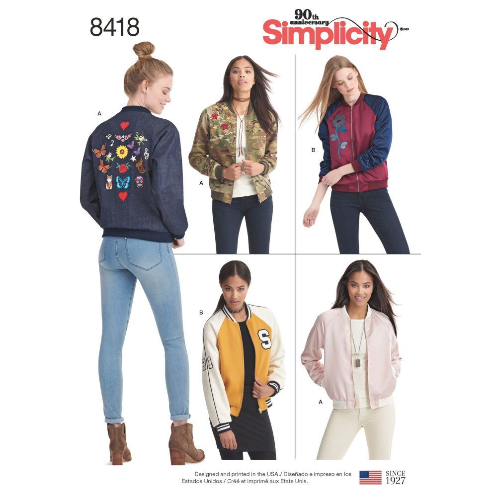 S8418 Simplicity sewing pattern D5 (4-6-8-10-12)