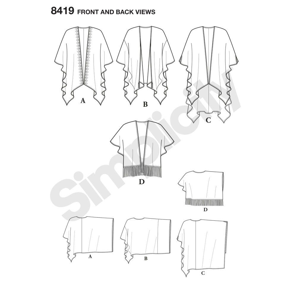 simplicity-kimono-wrap-miss-plus-easy-8419-front-back-view