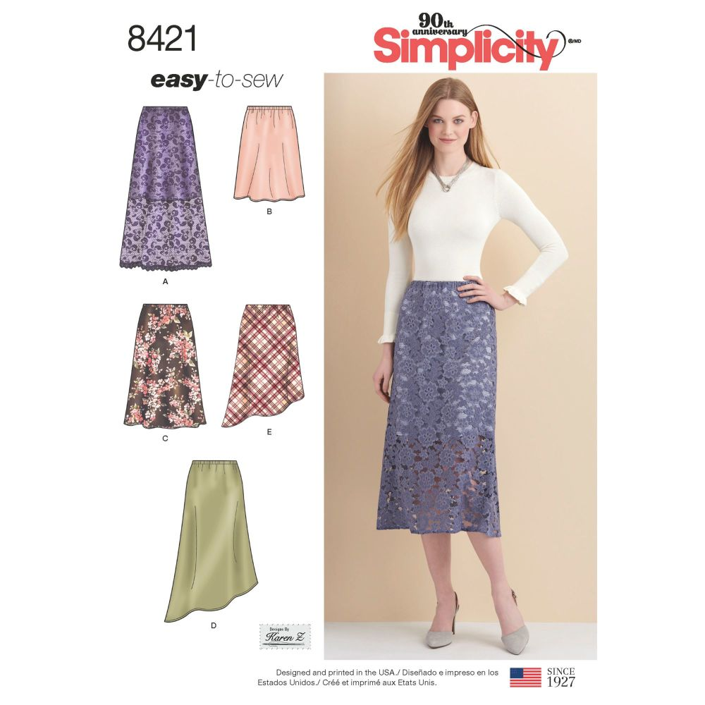 S8421 Simplicity sewing pattern H5 (6-8-10-12-14)