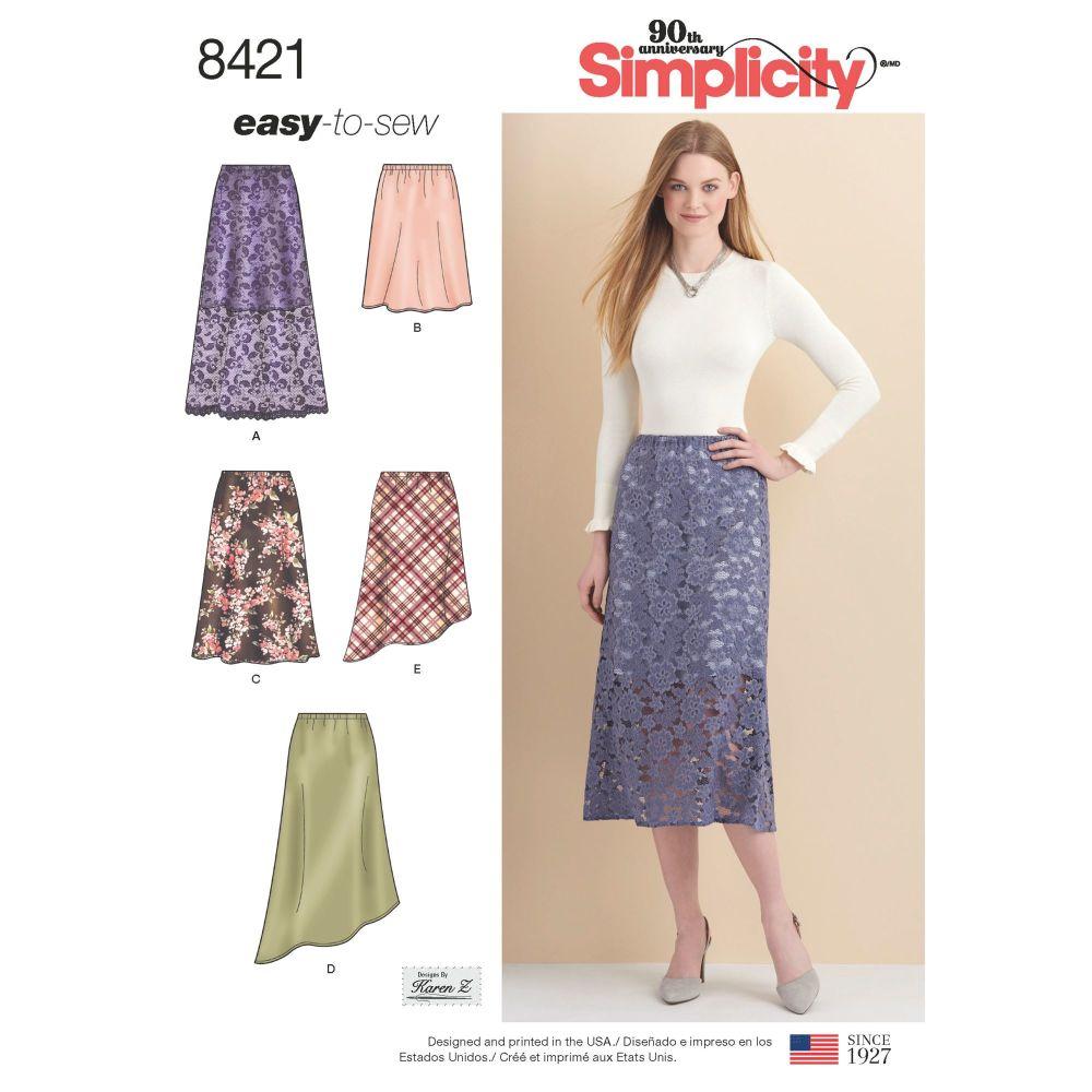 S8421 Simplicity sewing pattern U5 (16-18-20-22-24)