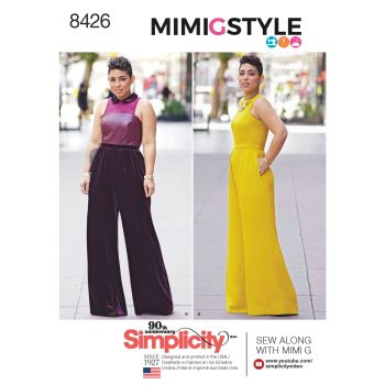 S8426 Simplicity sewing pattern BB (20W-28W)