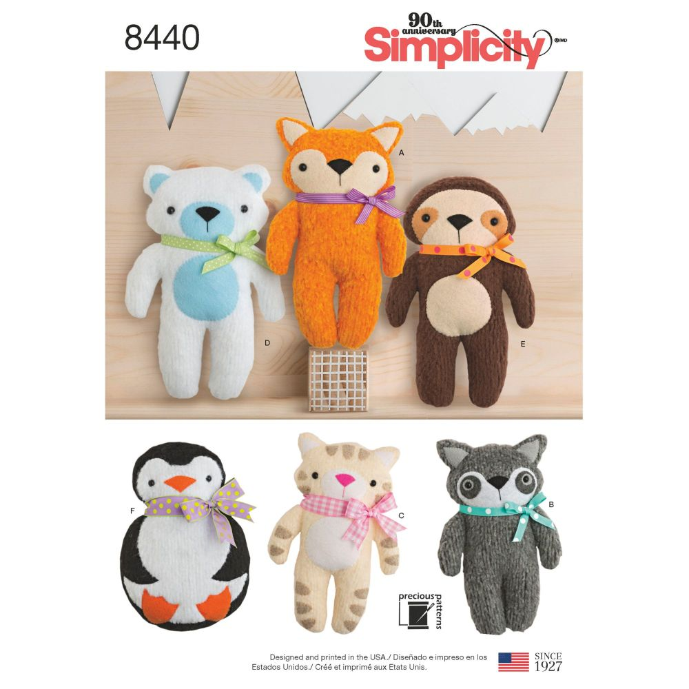S8440 Simplicity sewing pattern OS (ONE SIZE)