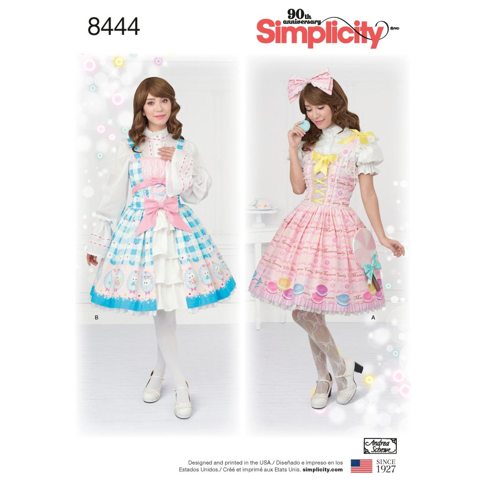 S8444 Simplicity sewing pattern D5 (4-6-8-10-12)