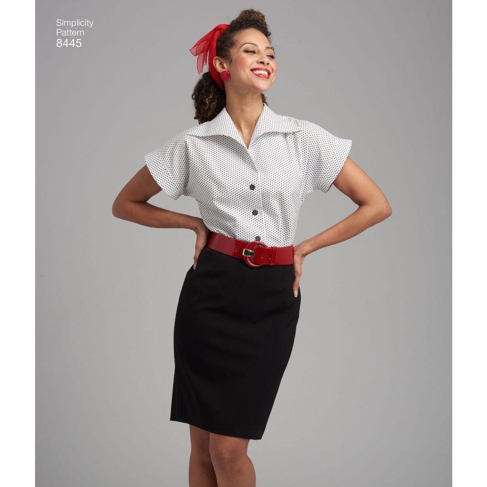 simplicity-vintage-blouse-cummerbund-miss-pattern-8445-AV1