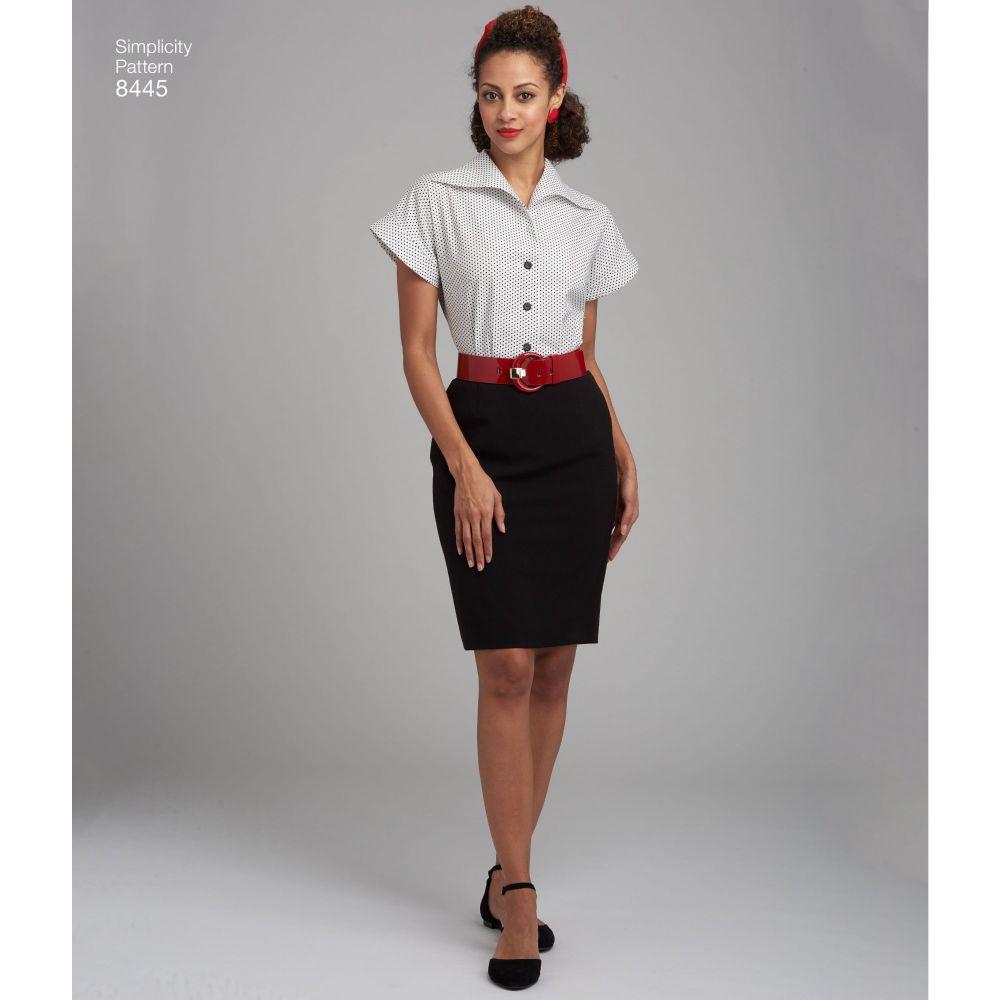 simplicity-vintage-blouse-cummerbund-miss-pattern-8445-AV3