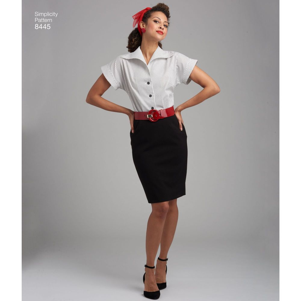 simplicity-vintage-blouse-cummerbund-miss-pattern-8445-AV4