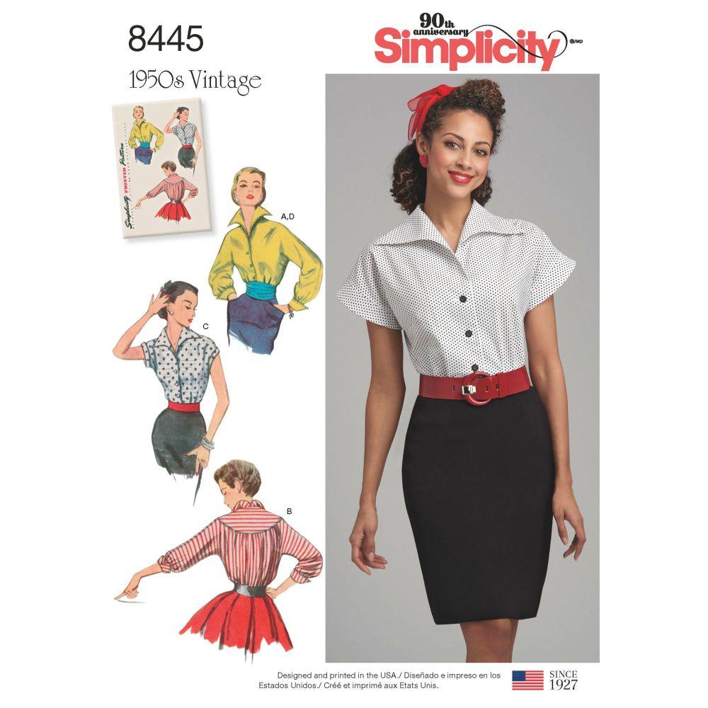 S8445 Simplicity sewing pattern U5 (16-18-20-22-24)