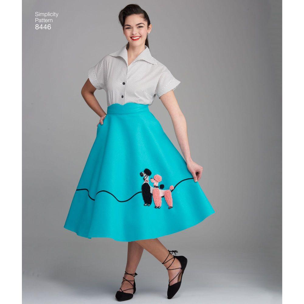 simplicity-vintage-1950s-poodle-skirt-miss-pattern-8446-AV2
