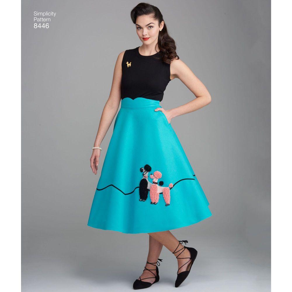 simplicity-vintage-1950s-poodle-skirt-miss-pattern-8446-AV3