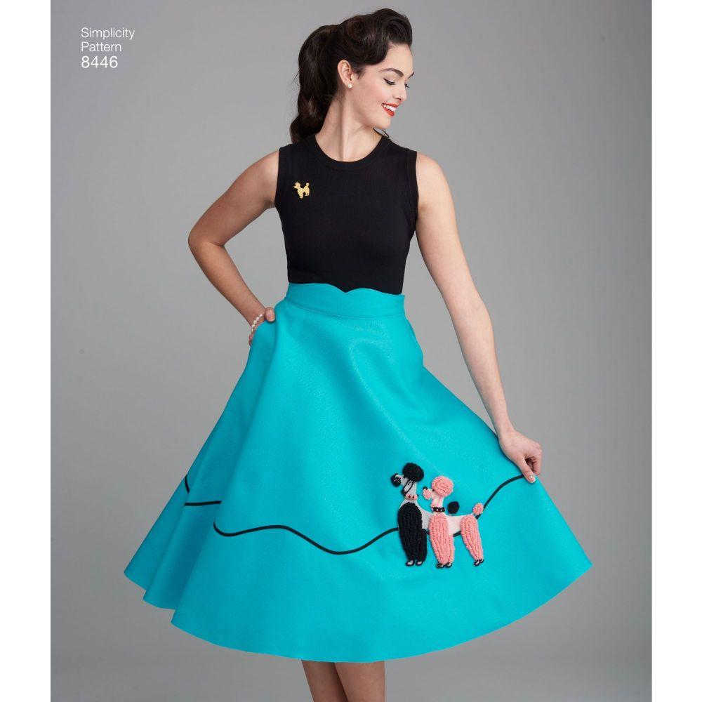 simplicity-vintage-1950s-poodle-skirt-miss-pattern-8446-AV4