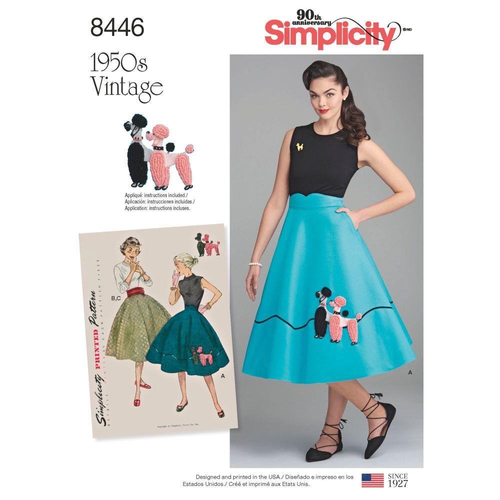 S8446 Simplicity sewing pattern U5 (16-18-20-22-24)