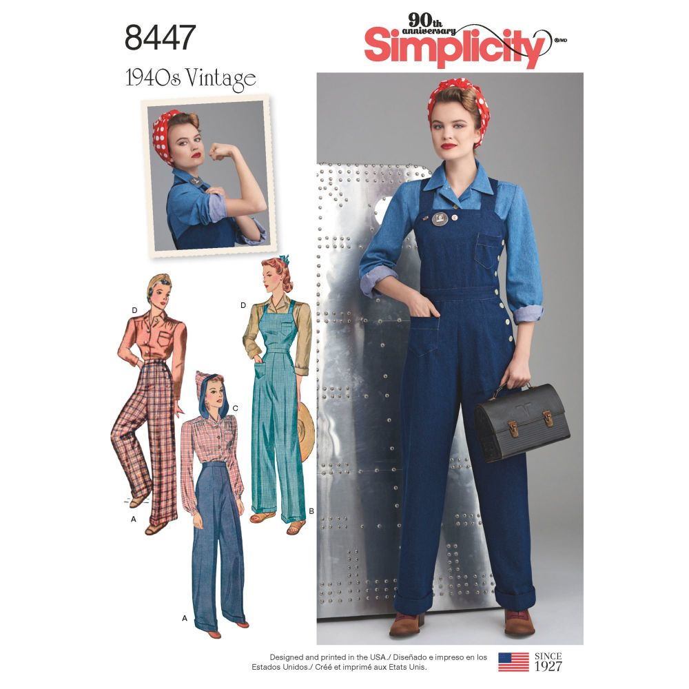 S8447 Simplicity sewing pattern H5 (6-8-10-12-14)