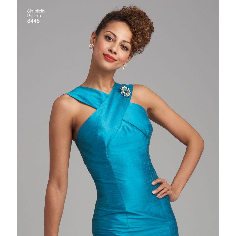 simplicity-vintage-1950s-rockabilly-dress-miss-pattern-8448-