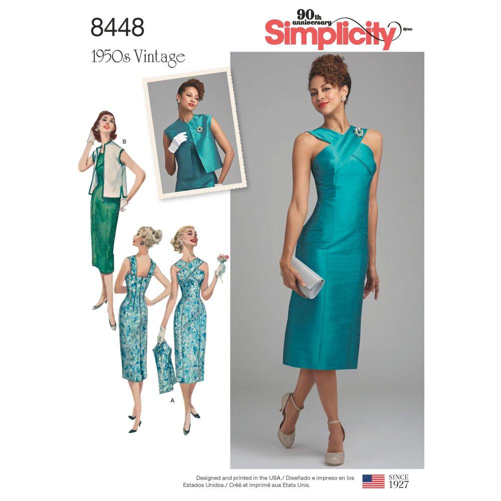 S8448 Simplicity sewing pattern U5 (16-18-20-22-24)