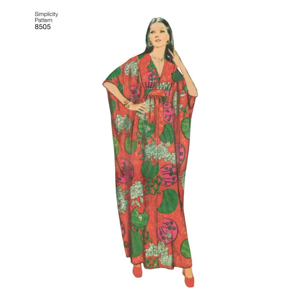 simplicity-vintage-caftan-pattern-8505-AV2