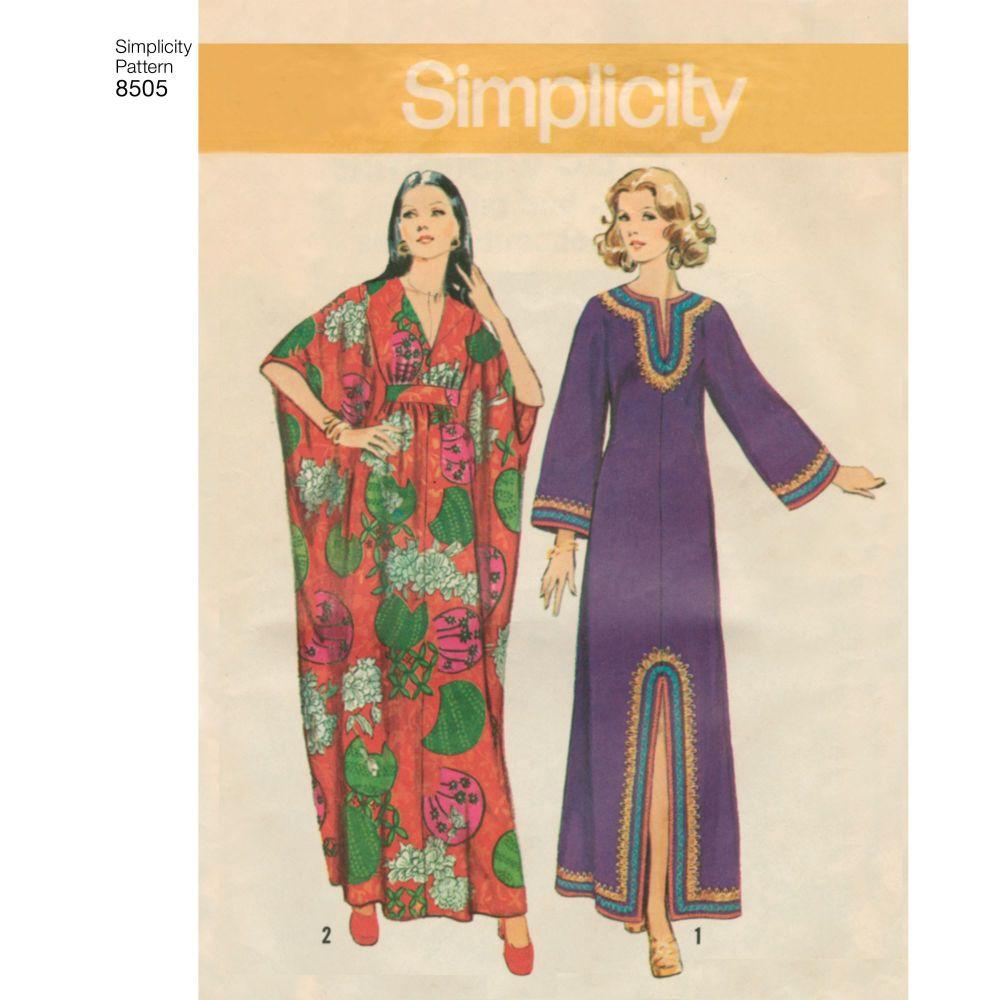 simplicity-vintage-caftan-pattern-8505-AV3