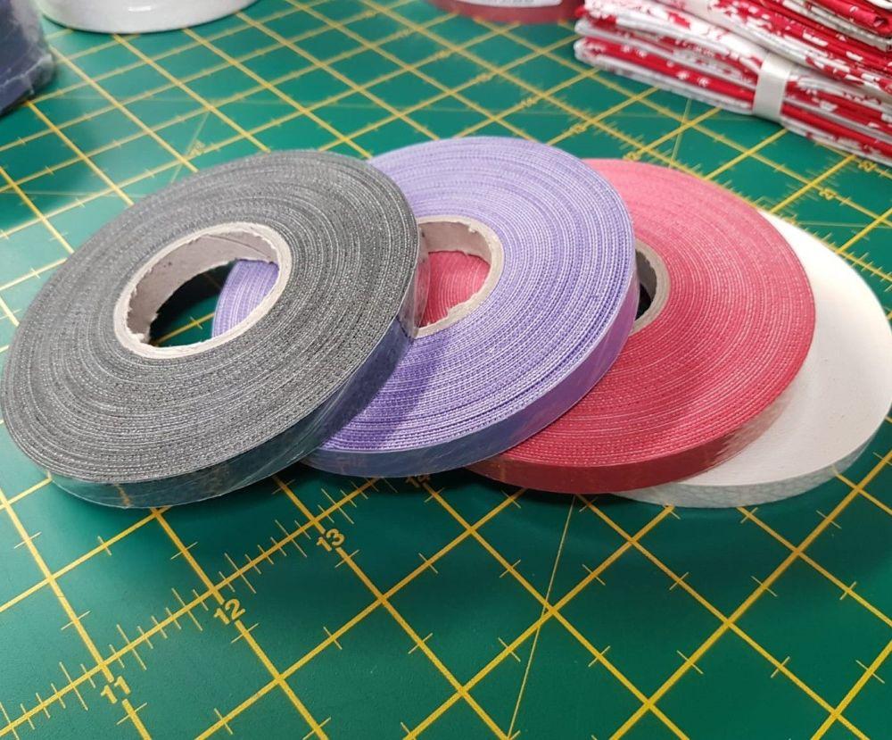 Starfil leatherette strip 1cm x 10mtr roll PURPLE