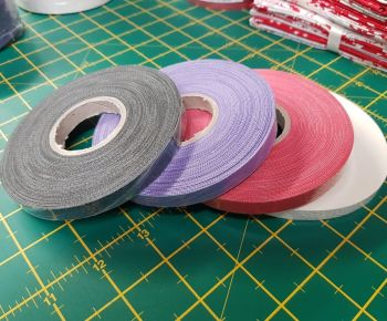 Starfil leatherette strip 1cm x 10mtr roll PURPLE