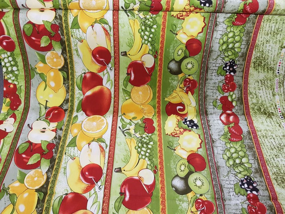 cotton fabric fruit reference 4006/0010