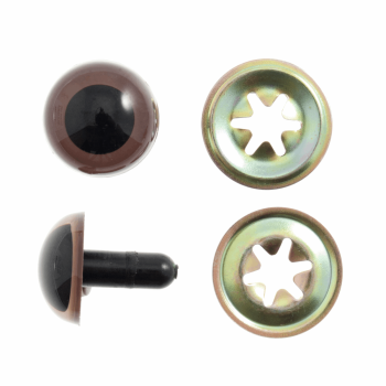 toy eyes  teddy Trimits tcb005 15mm brown pack of 4