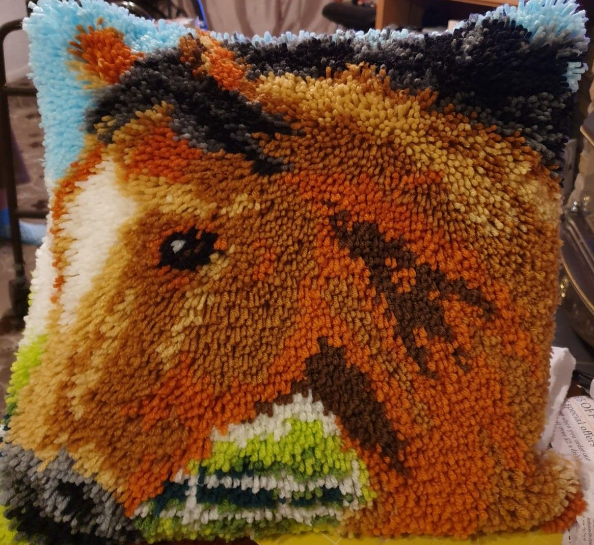 Debby's Patch horse pcushion