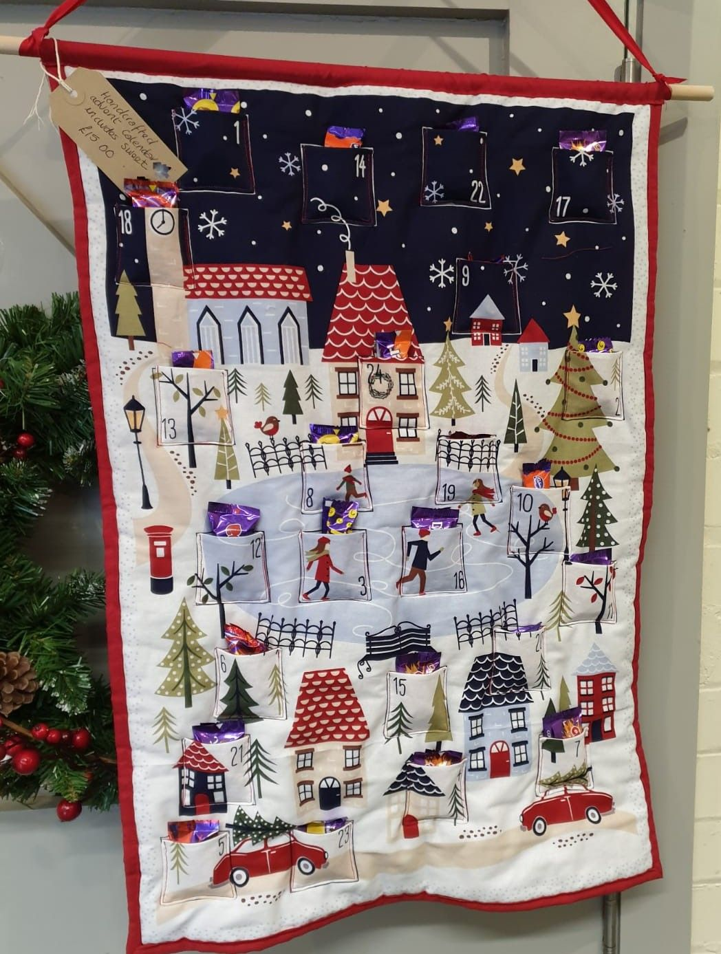 Debby's Patch fabric advent cal