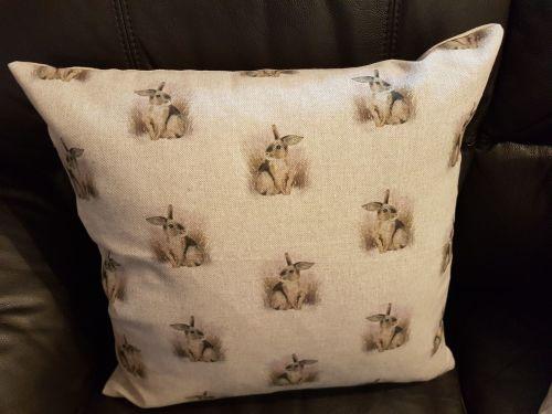 debbyspatch popart cushion back rabbit